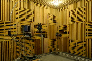 Subsonic anechoic wind tunnel - Lyon - Acoustics